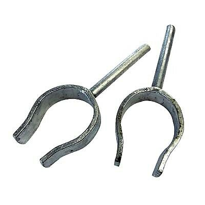 Rowlock Open - 10mm, Pair