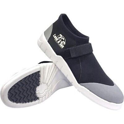 Land & Sea Moulded Sole Neoprene Sneaker - Mens, Black, 10