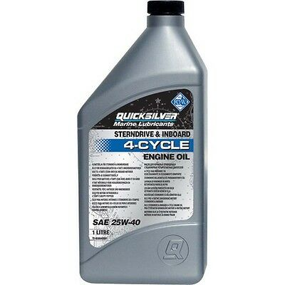 Quicksliver Outboard Oil - 3.78L, 4 Cycle