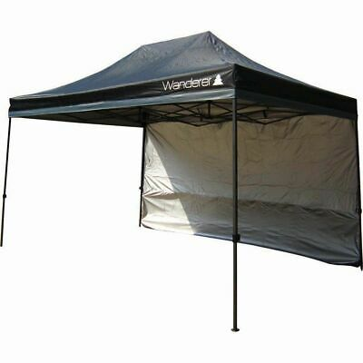 Wanderer Ultimate Jumbo Heavy Duty Gazebo Single Solid Wall Kit - 4.5m