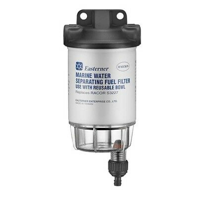 Eastener Fuel Filter - Water Separator Filter, With Clear Bowl