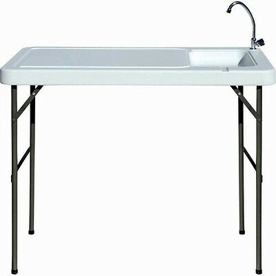 Wanderer Fish Filleting Table With Tap