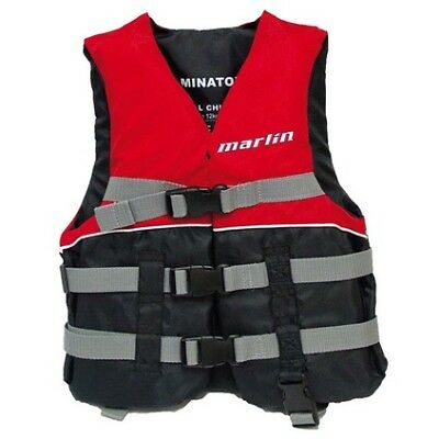 Marlin Dominator PFD 50 - Adult, XS-S, Red