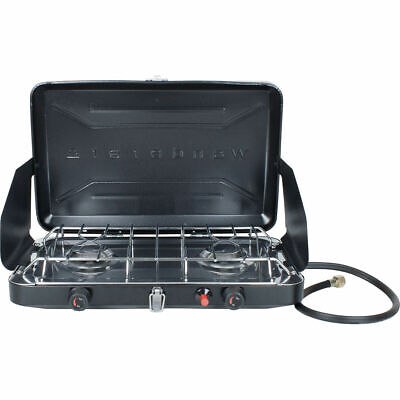 Wanderer 2 Burner LPG Stove With Drip Tray
