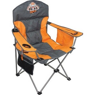 NRL Camp Chair- West Tigers