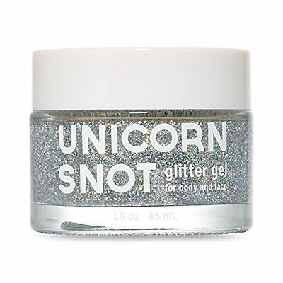Unicorn Snot Glitter Gel for Body and Face - Silver
