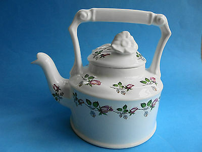 Arthur Wood & Son Teapot England Pink Roses Like New