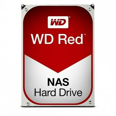 Western Digital 8TB SATA 6Gb 256Mb Intellipower NAS RED Hard Drive WD80EFAX 3YRS