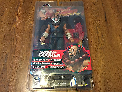 "SOTA ""Battle-Cry"" GOUKEN SDCC EXCLUSIVE Street Fighter Figure VERY RARE!"