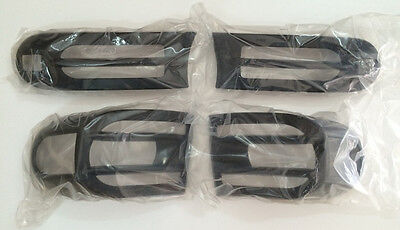2007-14 Toyota For FJ Cruiser Black ABS Head & Rear Light Guard Protector Covers