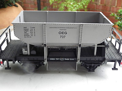 LGB 4141 G SCALE OE ore coal car ballast