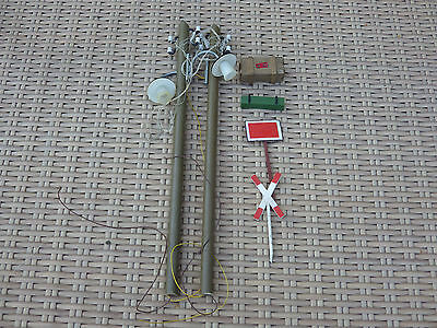 LGB trains  pola g light poles lgb g scale plus a couple of extras