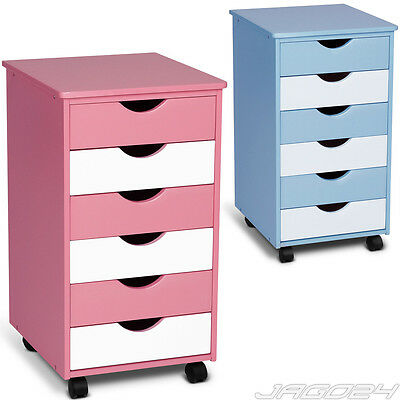 Drawer Cabinet Chest Bedroom Children Furniture Storage Bedside Choice of Colour