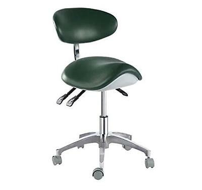 Dentist Chair Dental Mobile Chair Saddle Chair Doctor's Stool PU Leather New