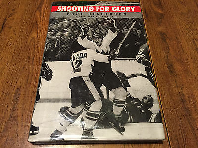 Paul Henderson Autographed Signed Book 72 Summit Series Team Canada RARE!