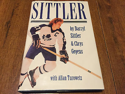 Darryl Sittler Autographed Signed Book NHL Toronto Maple Leafs RARE!