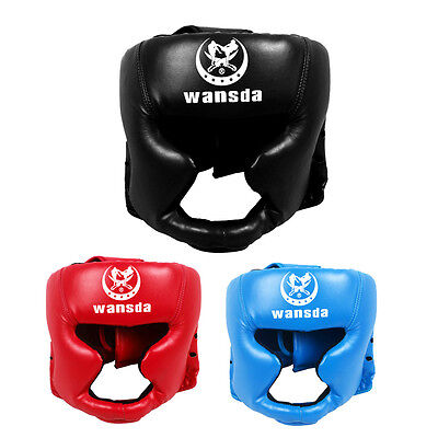 Headgear Head Guard Training Kick Boxing Protector Sparring Gear Face Helmet Hot