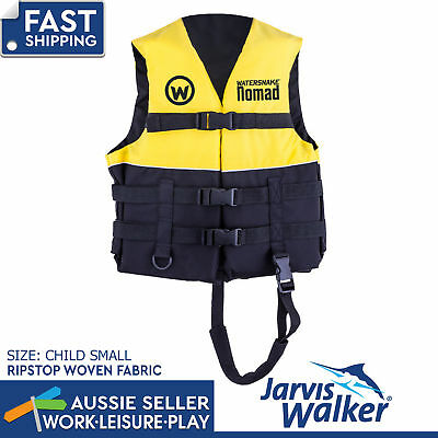 Jarvis Walker Watersnake Nomad PFD Life Jacket Vest Fishing Level 50 Child Small