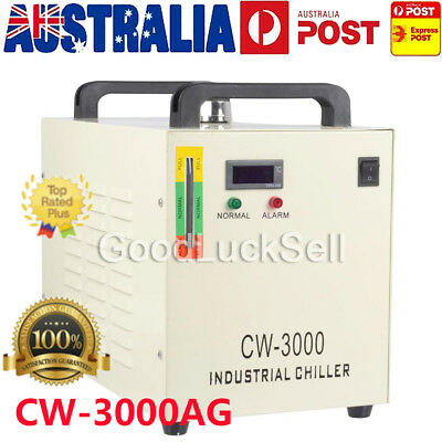CW-3000AG Industry Air Water Chiller CO2 Laser Engraving Cutting Machine 220V AU