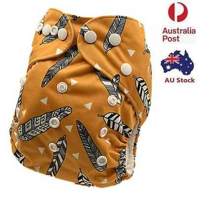 New Reusable Washable Modern Cloth Nappies Baby MCN Modern Cloth Diaper (D121)