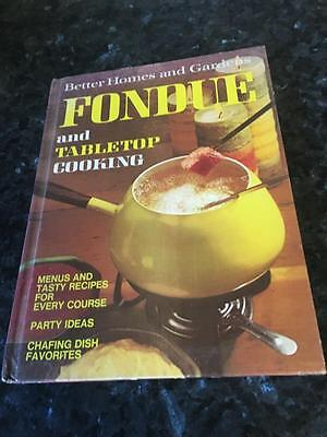 Vintage Better Home & Gardens Fondue - Hard Cover Cook Book - Rare - Buy Now