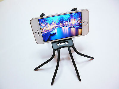 Support Universel Smartphone Tablette Flexible Appareil Photo Mini Trépied