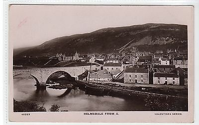 HELMSDALE FROM SOUTH: Sutherland postcard (C20684)