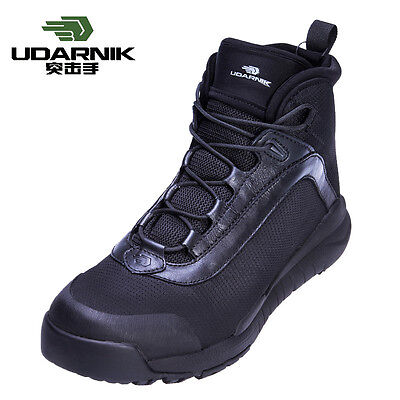UDARNIK Tactical Combat Outdoor Military Army Men Boots Desert Hiking Shoes