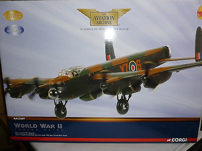 Brand New Corgi Aviation Archive Aa32609 Avro Lancaster B.i