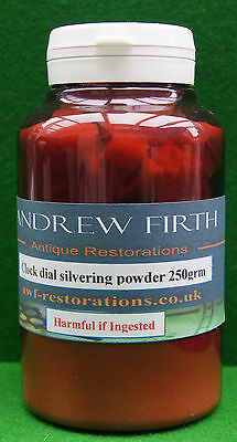 Antique clock dial Silvering Powder 250g for longcase or barometer dials