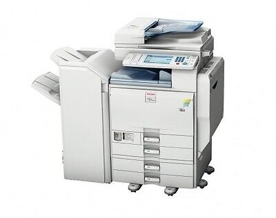 Ricoh MP C5501 Druck, Scan, Fax, FInisher, Color Controller e5200