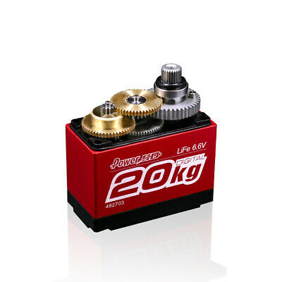 LF-20MG Standard Digital High Torque Servo For RC Plane 1:10 /1:8 Cars Robots
