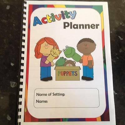 childminder childcare nursery 12 months planning book long medium weekly plans