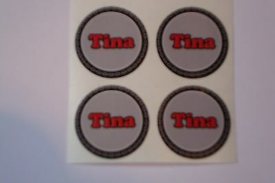 """12  Fran CROWN GREEN STICKERS  1/""""   LAWN BOWLS FLATGREEN  AND INDOOR BOWLS"""