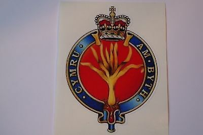"2 X   Staffordshire Regiment  STICKERS  4/"" BRITISH ARMY BADGES MILITARY INSIGNIA"
