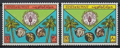 Kuwait 1981 ** Mi.916/17 Welternährungstag World Food Day