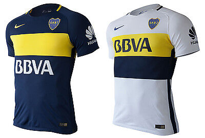 New BOCA JUNIORS jersey PLAYER ISSUE  2017 *MATCH* Home & Away NIKE