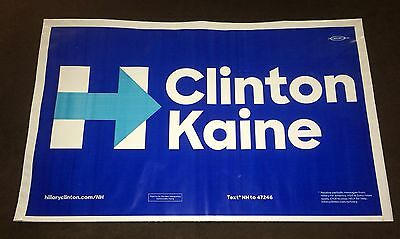 Hillary Clinton Tim Kaine 2016 President Campaign All Weather Yard Sign NH