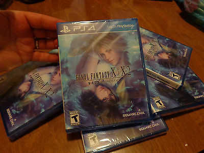 Final Fantasy X/X-2 HD Remaster PS4 Sony NEW FACTORY SEALED