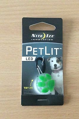 NITE IZE innovation 1 X PETLIT LED for the pets collar.