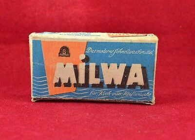 Wehrmacht Wwii German Small Box For Detergen Ration Milwa Rare War Relic