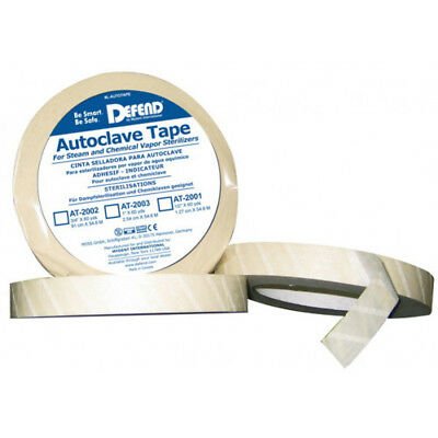"Autoclave Indicator Tape 1"" 60 Yd Roll [1904-Md]"