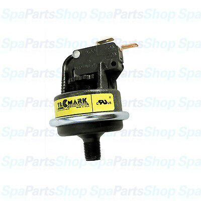 "Tecmark Pool Spa Heater Pressure Switch 4010P 25A SPNO 1/8"" 5-20-0026"