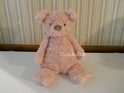 Jellycat large Pig Piggy plush stuffed pink with brown/gray nose  & tail