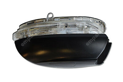 VW Golf Door Wing Mirror Indicator Lens Cover Right Side O/S  MK6 2009 - 2013