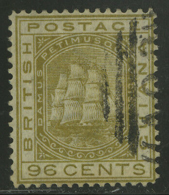 British Guiana  1876  Scott #  80  USED