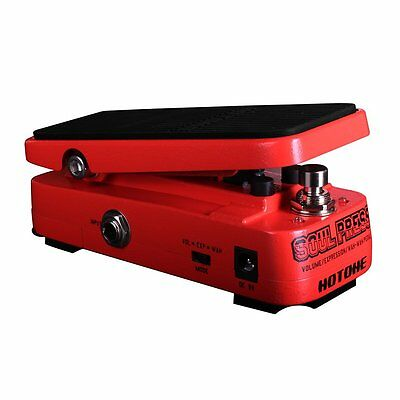 Hotone Soul Press Micro Volume/Expression/Wah Guitar Effect Pedal
