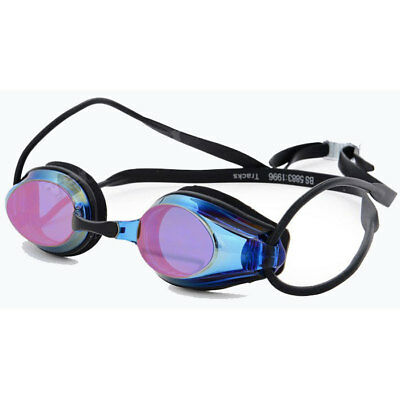 NEW Arena Tracks Mirror Swimming Goggles - Blue/Black from Ezi Sports Store