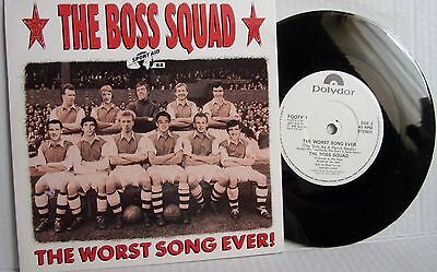 The Boss Squad Sport Aid 1988 The Worst Song Ever England Football Managers