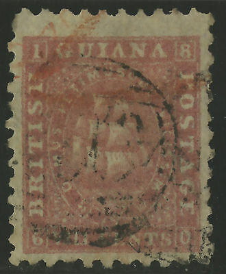 British Guiana  1866-71  Scott #  53  USED